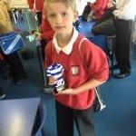 Ben's football award